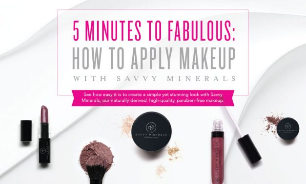 Applying Savvy Minerals Makeup